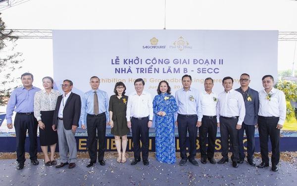 Saigontourist khởi công giai đoạn II Nhà triển lãm B