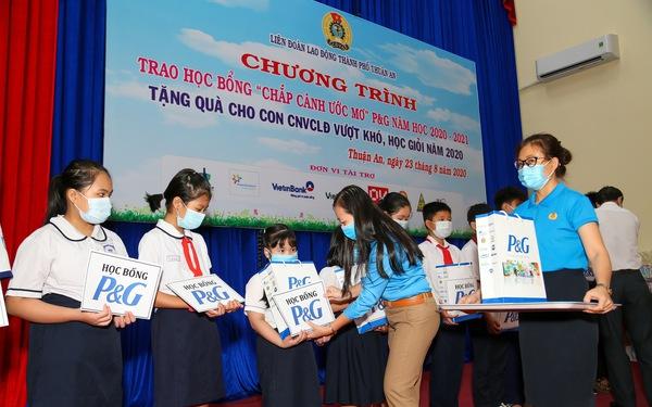 Nhiều dự án cộng đồng thiết thực mừng 25 năm P&G tại Việt Nam
