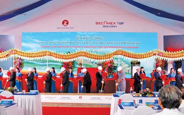 Khu công nghiệp Becamex VSIP Bình Định: Nâng tầm kinh tế miền Trung