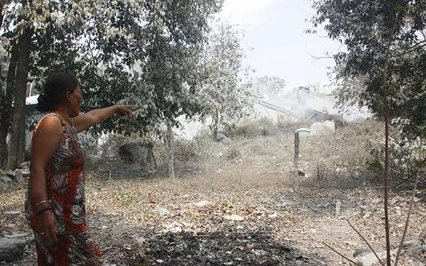 Kiên Giang: hàng trăm hộ dân sống chung với bụi đá