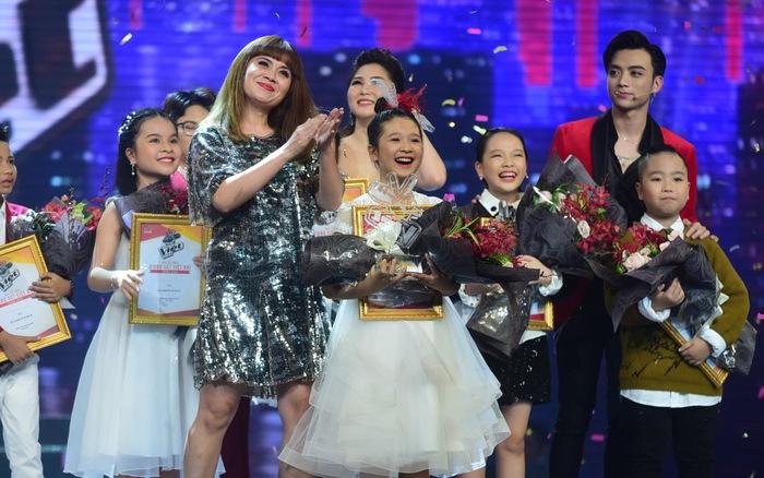 Ngọc Ánh giành quán quân Giọng hát Việt nhí 2017
