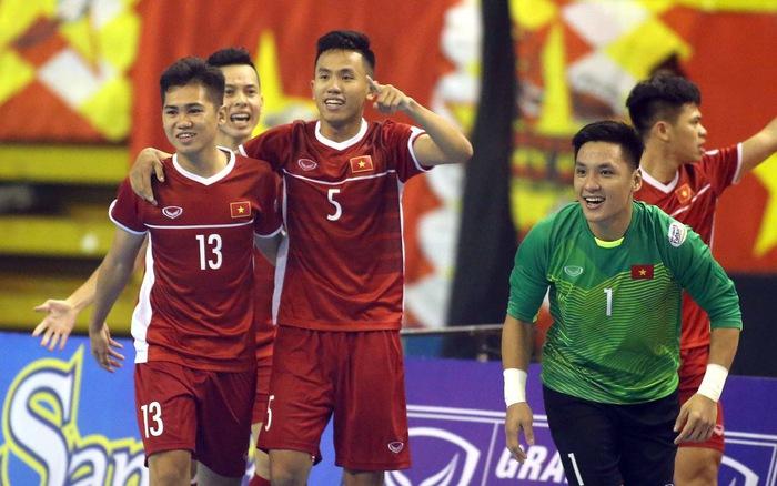 Futsal Việt Nam quyết lấy vé dự VCK châu Á 2020