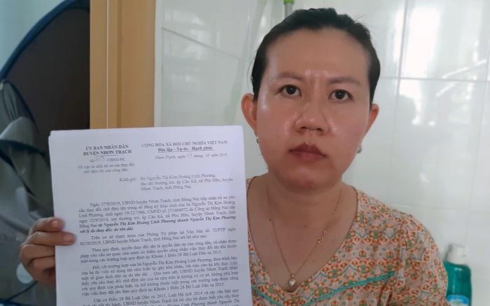 Chị Nguyễn Thị Kim Hoàng Linh Phương khổ vì cái tên quá...dài