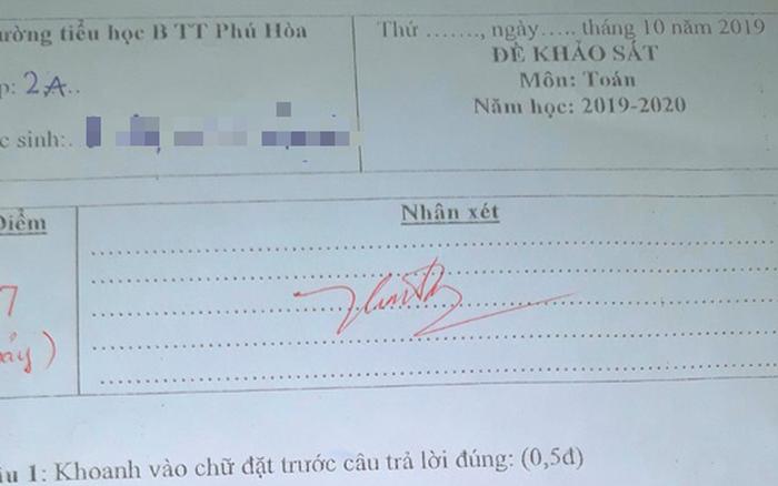 Bất ngờ vụ 'cha xin cho con ở lại lớp 1': bé đạt chuẩn học lớp 2