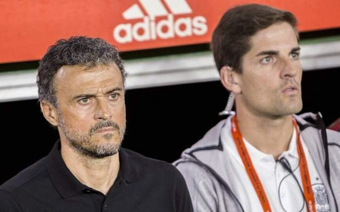 Image result for Luis Enrique and robert moreno