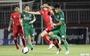 Cầu thủ CLB Sài Gòn 'vung tay quá trán' trả đũa và rời sân sau 9 phút thi đấu